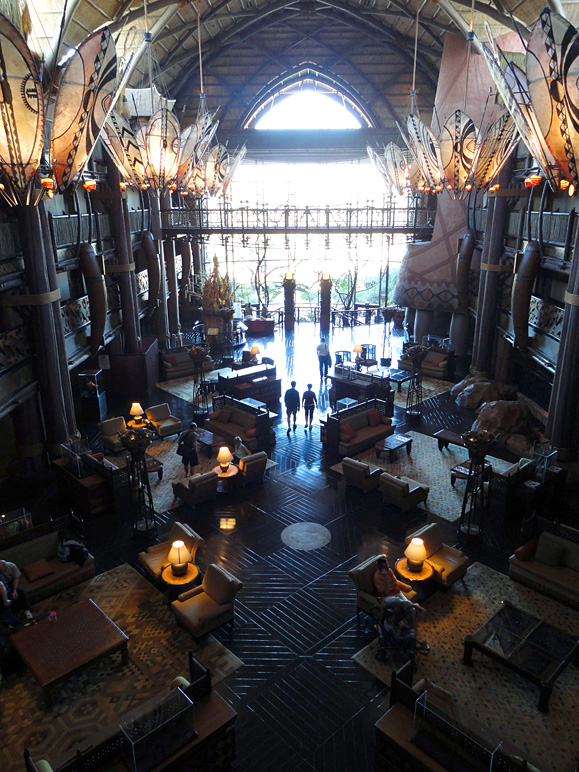 That's the Animal Kingdom Lodge lobby (257.02 KB)